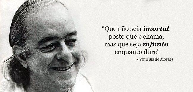 19 de outubro nascimento de Vinicius de Moraes